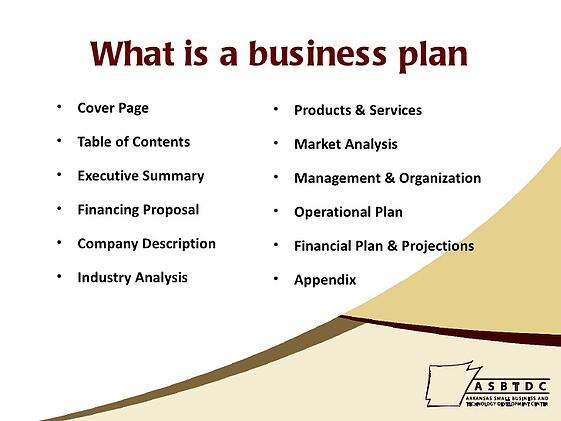 Need help for business plan